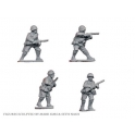 Crusader Miniatures WWR004 Russian Infantry with SMG