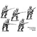 Crusader Miniatures WWR020 Russian Infantry Winter Uniform in helmets