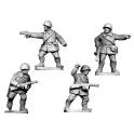 Crusader Miniatures WWR022 Russian Command, Winter Uniform wearing helmets