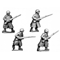 Crusader Miniatures WWR035 Russian Infantry in Greatcoats I
