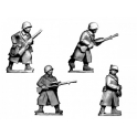 Crusader Miniatures WWR037 Russian LMG Teams in Greatcoats