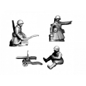 Crusader Miniatures WWR040 Russian HMG (Crew in Greatcoats)