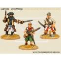 Crusader Miniatures CCP003 Pirates - Buccaneers