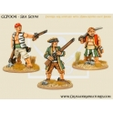 Crusader Miniatures CCP004 Pirates - Sea Scum