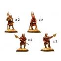 Crusader Miniatures MEH001 Halberdiers