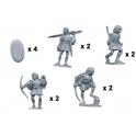Crusader Miniatures MEH009 Irish Skirmishers