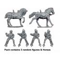 Crusader Miniatures MEH101 Mounted Hobilars