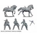 Crusader Miniatures MEH102 Mounted Crossbowmen