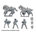 Crusader Miniatures MEH103 Knights Command