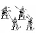 Crusader Miniatures MCF003 Knights with Big Weapons