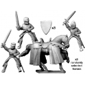 Crusader Miniatures MCF013 Mounted knights with swords