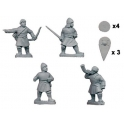 Crusader Miniatures DAB005 Byzantine Psiloi Command