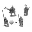 Crusader Miniatures DAB009 Varangian Command in full armour