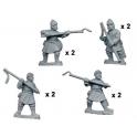 Crusader Miniatures DAB001 Psiloi btzantins avec javelots et boucliers