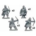 Crusader Miniatures DAB003 Archers psilois byzantins