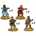 Crusader Miniatures DAB004 Spiloi byzantins avec arbalètes
