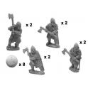 Crusader Miniatures DAB008 Axemen varangiers en armure intégrale
