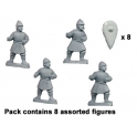 Crusader Miniatures DAB011 Lanciers Byzantins en armure