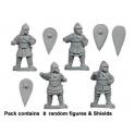 Crusader Miniatures DAB016 Byzantine Heavy Skutatoi Standing