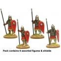 Crusader Miniatures DAB017 Byzantine Skutatoi standing - Lammelar Armour