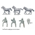 Crusader Miniatures DAB107 Byzantine Light Cavalry with Spears