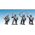 Crusader Miniatures AFS001 Saxon Warriors with Swords