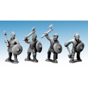 Crusader Miniatures AFS002 Saxon Warriors with Axes