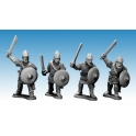 Crusader Miniatures AFS004 Saxon Noble Warriors with Swords