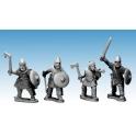 Crusader Miniatures AFS007 Saxon Commanders