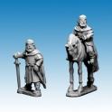 Crusader Miniatures DAI011 Brian Boru - foot & mounted version