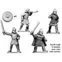 Crusader Miniatures DSC004 Commandement écossais à pied