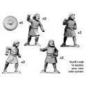 Crusader Miniatures DSC001 Guerriers écossais sans armure