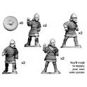Crusader Miniatures DSC003 Barons écossais en armure