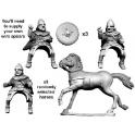 Crusader Miniatures DSC005 Barons écossais à cheval