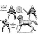 Crusader Miniatures DSC007 Commandement écossais à cheval