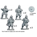 Crusader Miniatures DAE002 Unarmoured Spanish Spearmen