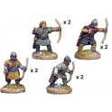 Crusader Miniatures DAE003 Unarmoured Spanish Archers