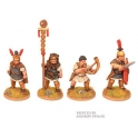 Crusader Miniatures ANR004 Republican Roman Legionary Command
