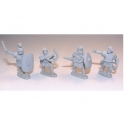 Crusader Miniatures ANR009 Republican Roman Light Infantry Command