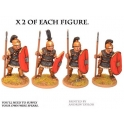 Crusader Miniatures ANR003 Republican Roman Triarii in Mail with Spear