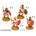 Crusader Miniatures ANR005 Roman Velites with spear/javelin & shield