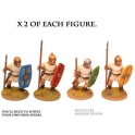 Crusader Miniatures ANR007 Roman Penal Legionaries with Spears