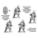 Crusader Miniatures ANC002 Unarmoured Citizen Spearmen