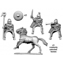 Crusader Miniatures ANC008 Carthaginian Cavalry Command