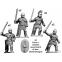 Crusader Miniatures ACE001 Ancient Celtic Noble Warriors