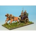 Crusader Miniatures ACE018 Celt Warrior in Chariot II