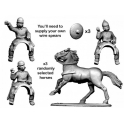 Crusader Miniatures ACE023 Ancient Celt Mounted Warriors