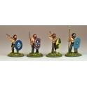 Crusader Miniatures AGE001 German Warriors I
