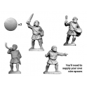 Crusader Miniatures ANN004 Numidian Warrior Command