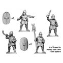 Crusader Miniatures ANN007 Numidian Command (For Legionaries and Trained Infantry)